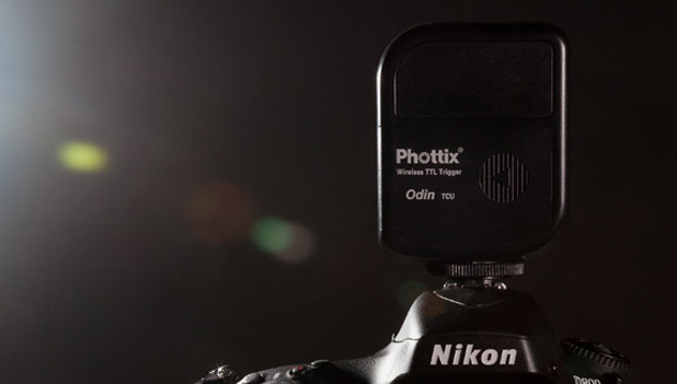Phottix odin disparador remoto flash ttl actualizacion firmware
